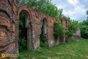 Руїни Путивльської фортеці (~1146р)