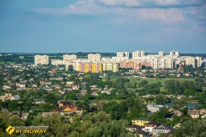 Observation deck and ski resort KhAI, Kharkiv