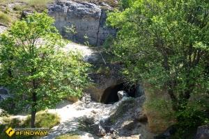 Small cave, Pidkamin
