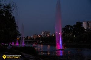 Русанівські фонтани, Київ