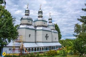 Wooden church of St. Nicholas, Vinnytsia