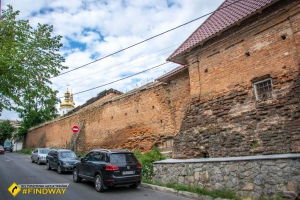 Vinnytsia castle walls