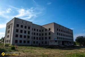 Недобудована лікарня, Ізюм