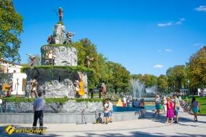 Shevchenko Central Park, Kharkiv