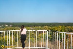 Парк Репина, Смотровая площадка, Чугуев