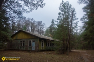 Abandoned child camp «Pine Forest», Tymchenky