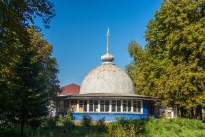 Planetarium-UFO of local gymnasium, Okhtyrka