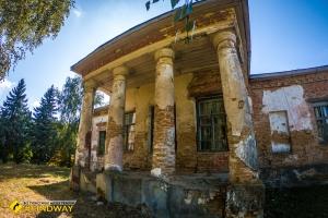 Bannikov house (temporary Zakrevsky manor), Berezova Rudka