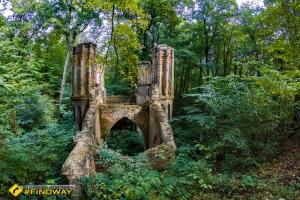 Готический мост паркового комплекса Галаганов, Сокиринцы
