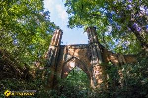 Готичний міст паркового комплексу Ґалаґанів, Сокиринці
