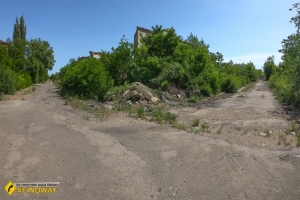 Abandoned town Otvod, Kryvyi Rih