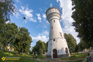 Tower of city water supply, Hlukhiv