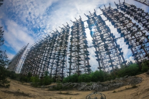 "Over-horizontal radar station ""Duga"", Chornobyl-2"
