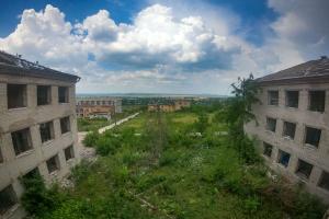 Зруйнована психіатрічна лікарня, Слов'янськ