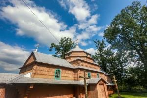 Деревянная церковь Св. Кузьмы и Демьяна, Корчин