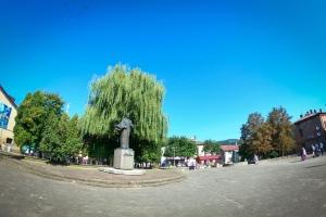Square of Taras Shevchenko, Skole
