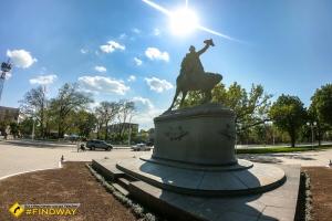 Park of Suvorov avenue, Izmail