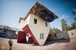 Upside down House, Skadovsk