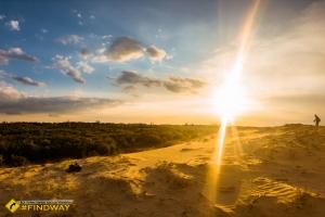 Олешковские пески, Украинская пустыня