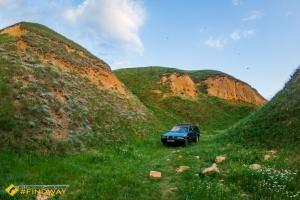 Станиславский каньон (Херсонские горы балки Байдиха)
