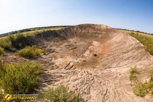 Місце підземного ядерного вибуху «Факел», Хрестище