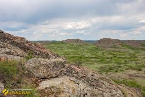 Stone graves reserve (Kamyani mogily), Ukrainka