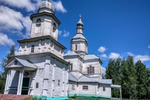 Temple of the Assumption of the Blessed Virgin Mary, village Voloskivtsi, city of Mena