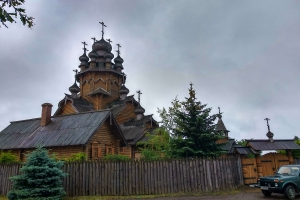 All sacred skit (Temple of All Saints), Svyatogirsk