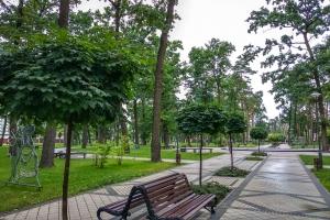 Городской парк В. Правика, Ирпень