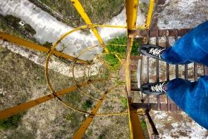 Заброшенная водонапорная башня, Ирпень