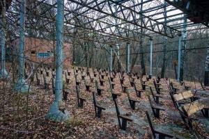 Покинутий дитячий табір «Дружба» заводу «Серп і Молот», Південне