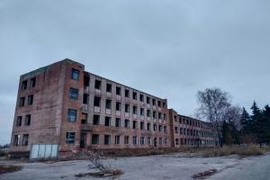 Remains of the metalwork plant, Lozova