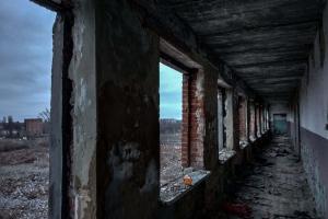 Остатки завода металлоконструкций, Лозовая