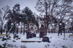 Recreation park of railway workers, Kupyansk-Uzlovaya