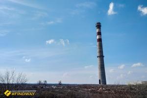 Abandoned garbage combustion plant, Kharkiv