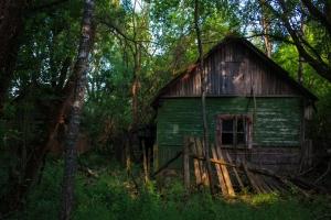 Заброшенное село Корогод, Чернобыльская зона отчуждения