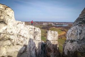 Крейдяні скелі Білокузьминівки (Скелеподібне оголення верхньої крейди), Краматорськ