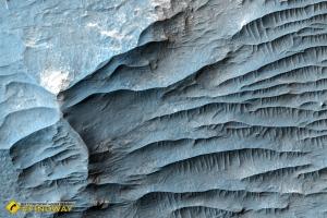 Хаос Авроры, Марс