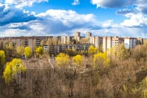 Город-призрак Припять, Чернобыльская зона отчуждения