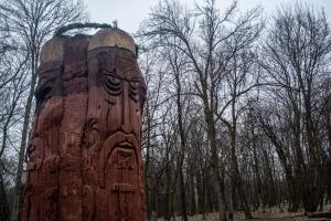 """Конный театр """"Запорожские козаки"""", о.Хортица"""