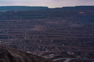 Abandoned chalk quarry, Kupiansk