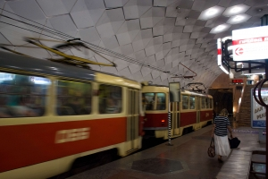 Station of High Speed Tram (Metro Tram), Kryviy Rih