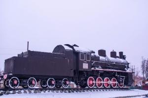 Пам'ятник воїнам-залізничникам, Бахмач