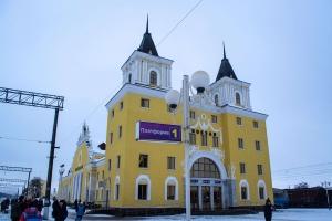 Залізничний вокзал станції Бахмач