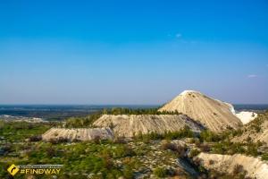 Chalky tericons (Slovyansk cretaceous mountains), Rayhorodok