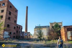 Abandoned salt factory «Vacuum», Slovyansk