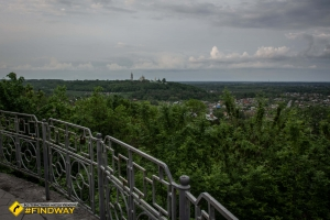 Viewing platform, Poltava