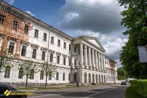 Заброшенный кадетский корпус, Полтава