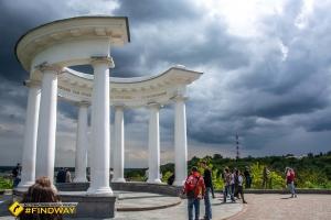 Смотровая площадка «Белая  Альтанка», Полтава
