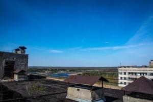 Хмарочоси близнюки 16-поверхівки, Прип'ять